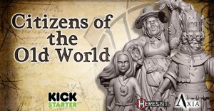 Citizens of the Old World - Resin and STL by HeresyLab