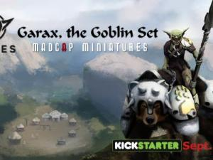 Tribes, Garax the Goblin Set. 3D Printable Miniatures