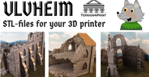 Ulvheim - STL-files for a stone city