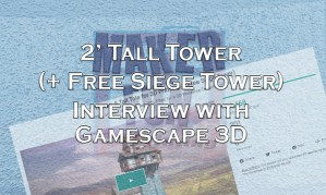 2 Foot Tall Tower Interview - Banner