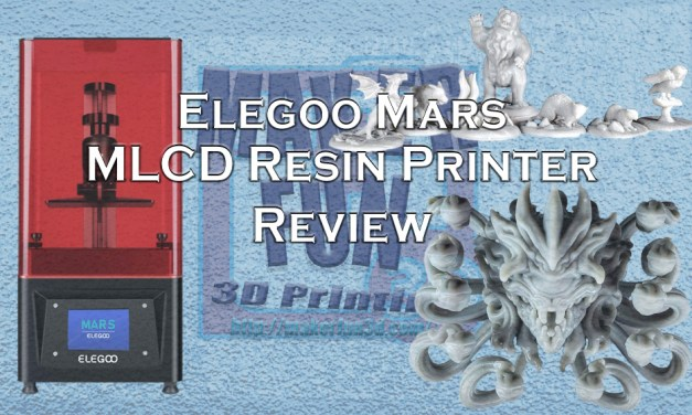 Elegoo Mars – Low Cost, High Quality Resin Printing