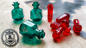 King of Potions - D4, D6 and D8 Potion Dice