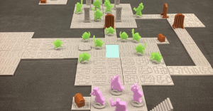Meepleverse: Simple 3d printable miniature and terrain designs that will quickly bring your games to colorful, 2.5-D life!