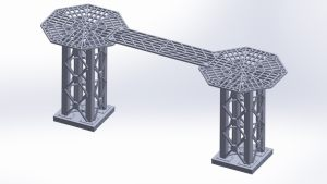 3D Printable Tower & Walkway Terrain