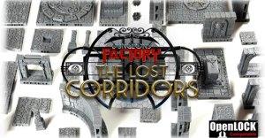 The Lost Corridors - 3D rpg tiles