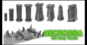 3rD Army Terrain: Necrossia - 3D Printable Terrain