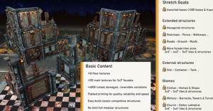 Damocles part 1, modular industrial buildings for wargaming