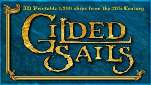 Gilded Sails: 3D-printed ships for the Anglo-Dutch Wars