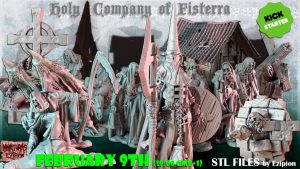 Holy Company of Fisterra - STL FIles by Ezipion
