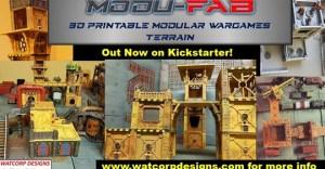 Modu-FAB - 3d Printable Wargames Terrain