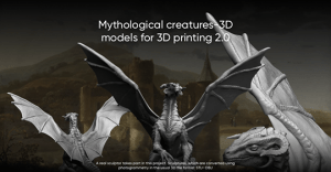 Mythological creatures-3D models for 3D printing 2.0