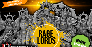 Rage Lords 54mm Female Quality Resin Miniatures by HeresyLab