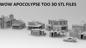 WOW Apocalypse and Modern Warfare 3D printable files in stl