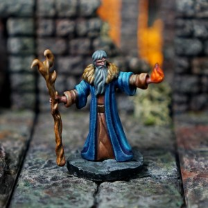 BattleFX Fantasy - Old Wizard Casting