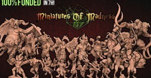 3D STL PRINTABLE MINIATURES - RISE OF DEMONS