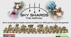 Sky Shards: The Arrival