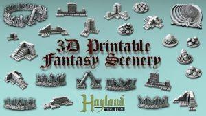 3D Printable Fantasy Scenery # 4