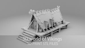 The Viking buildings