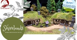 3D Printable Halfling Village