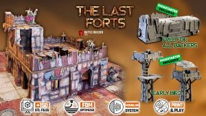 BATTLE BUILDER TECH: The Last Forts