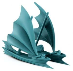 Catamaran Elf Ship