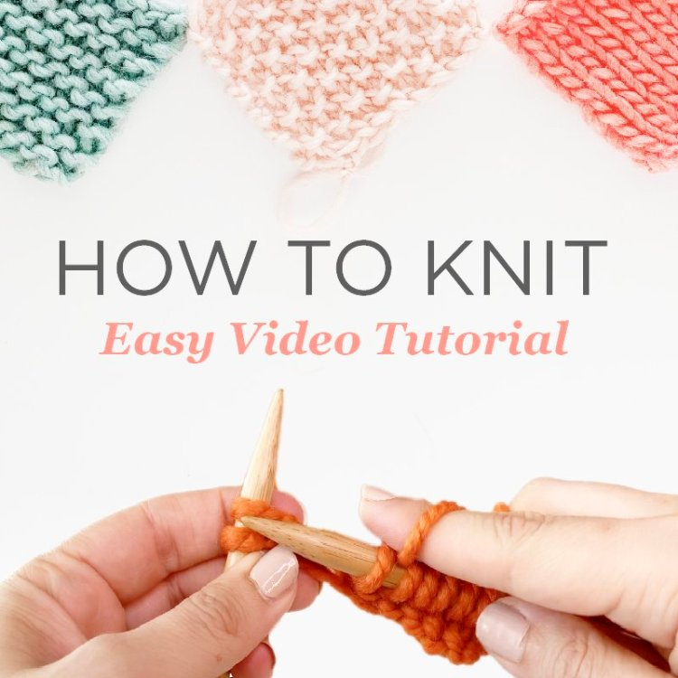 How To Knit Easy Step by Step Tutorial Maker Lex