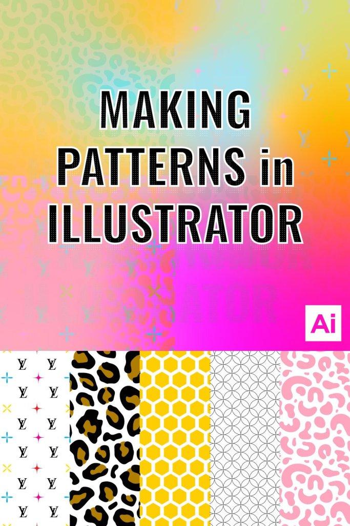 custom patterns in illustrator