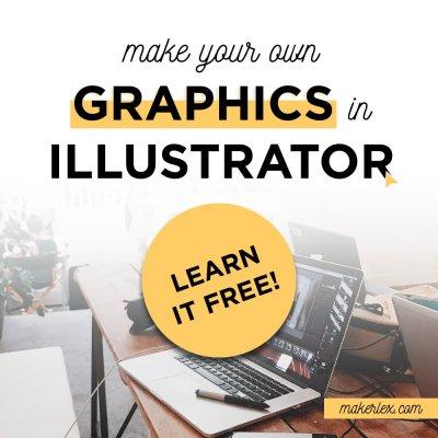 Easy Tutorials to Learn Adobe Illustrator FREE – Build a Vector Christmas Village Illustration