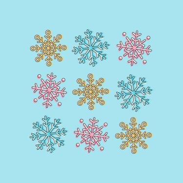 snowflake icons tutorial illustrator