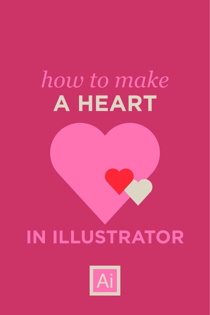 perfect heart in adobe illustrator