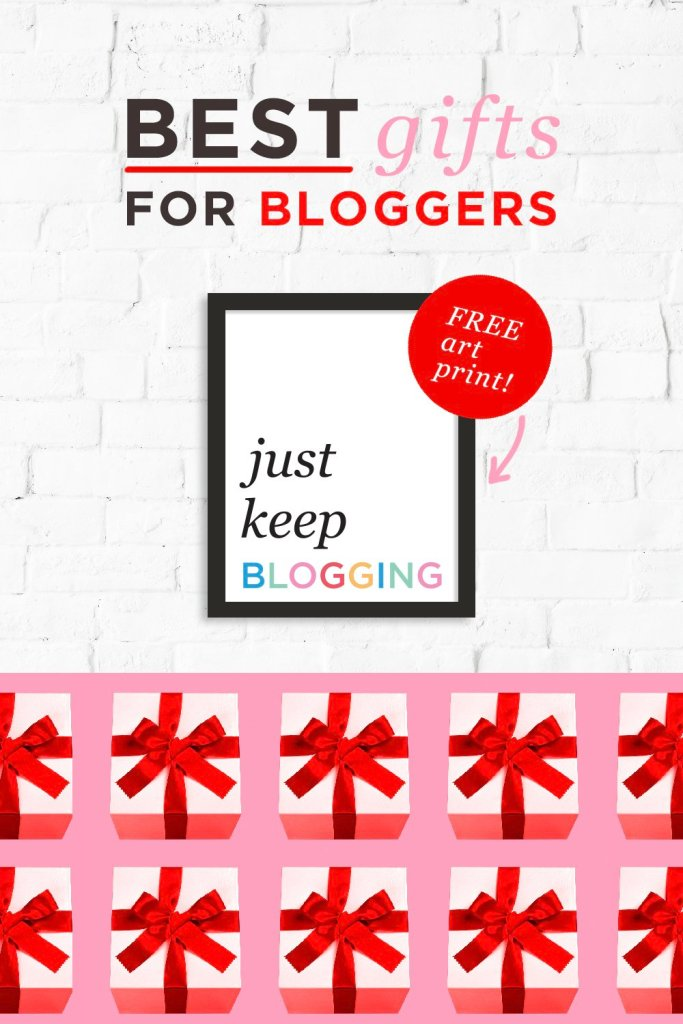 Ultimate Gift Guide for Bloggers Free Art Print