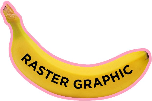 raster graphic made of pixels