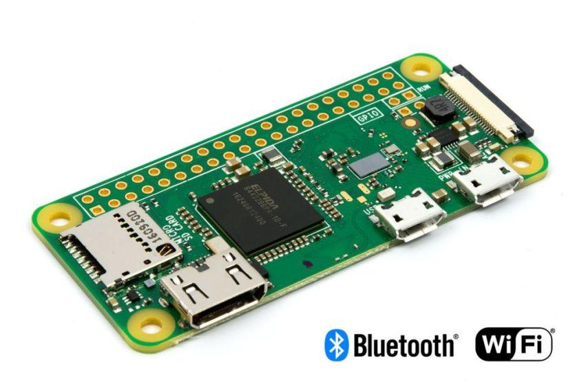 Pi Zero W支援Wi-Fi和BLE,價格為10美元。