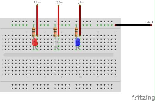 Tap Sensor Breadboard Wiring