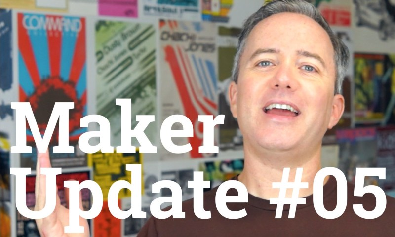 Still from Maker Update Ep. 05