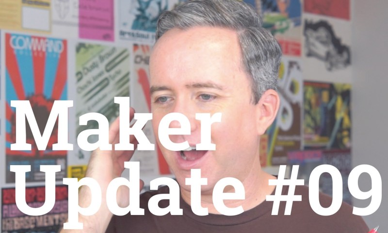 Maker Update 09 Title Card