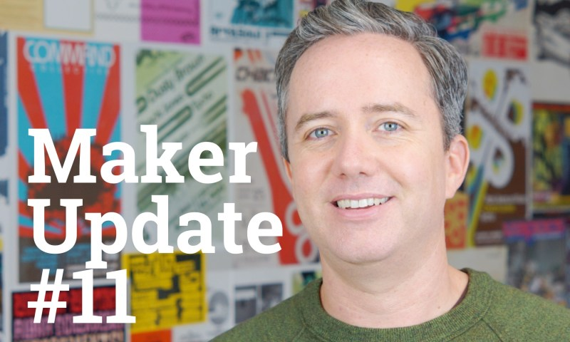 Maker Update 11 title card