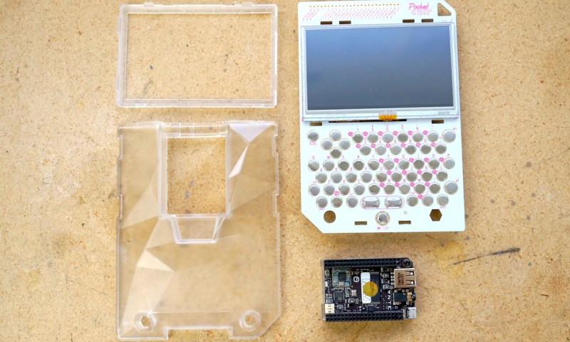Photo of PocketCHIP disassembled