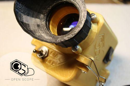 DIY 3D printed Night Vision Scope
