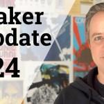 Tiki Volcanoes & Double Pendulums [Maker Update #24]