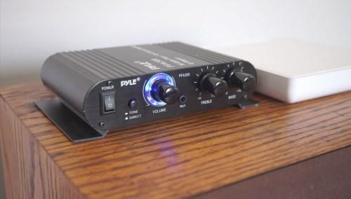 Amp and Pi Node Zero on Speaker