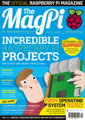 MagPi magazine issue 56 cover