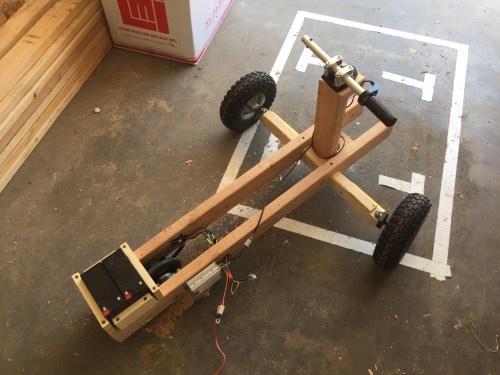 Photo of Wooden Go Kart.