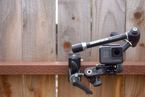 Manfrotto Magic Arm and Super Clamp