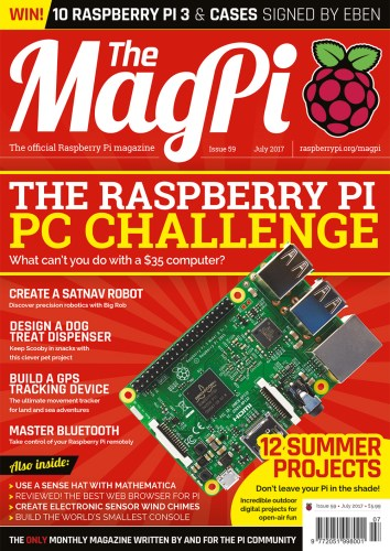 MagPi 59 cover.