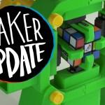Raspberry Pi Rubik's Robot [Maker Update #51]