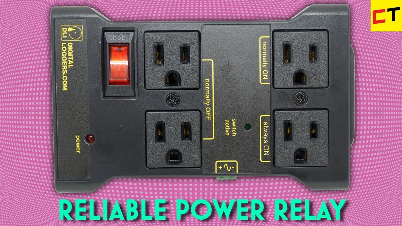Arduino-Controlled IoT Relay Power Strip Review •Maker