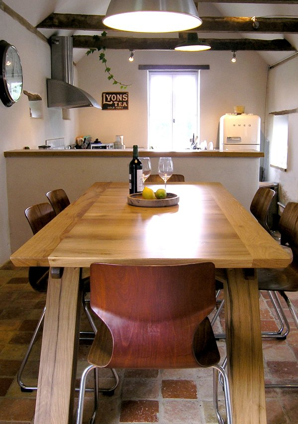 Arch Leg Dining Table Or Bespoke Office Desk