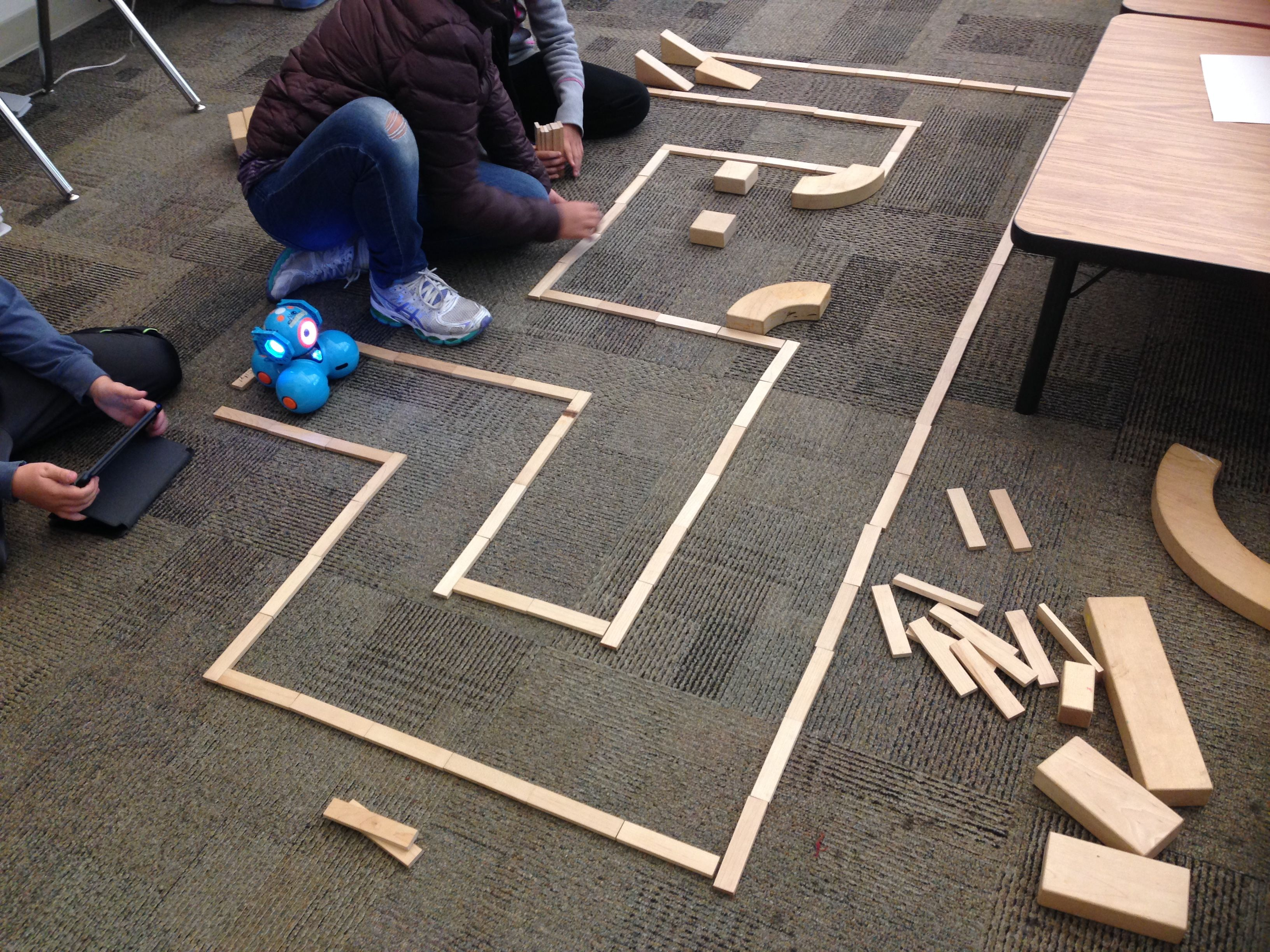 The Robots The Makerspace And Mazes