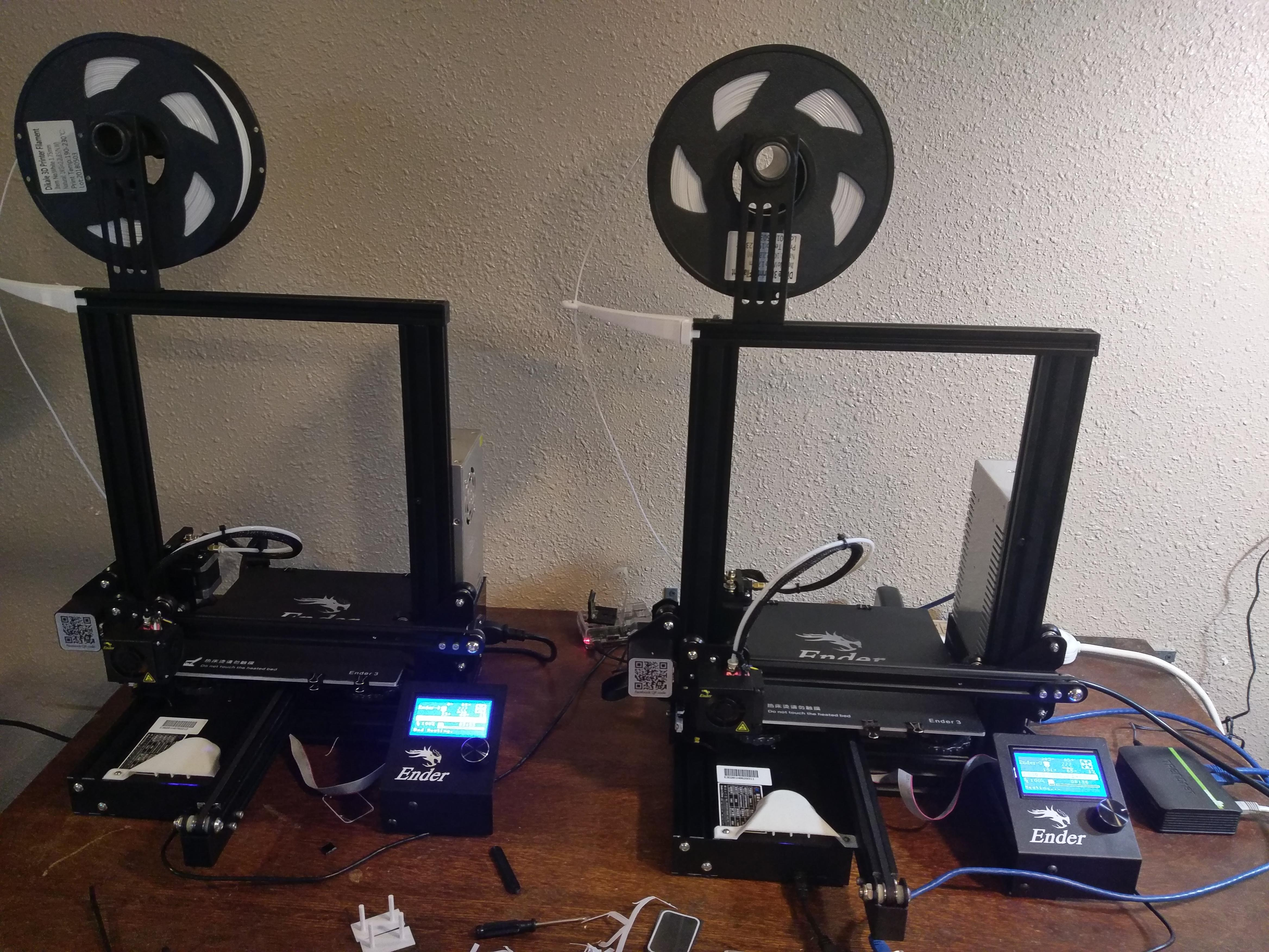 photograph relating to Ender 3 Printable Upgrades named A Story of 3 Enders: Naked Bones Updates for the Ender 3